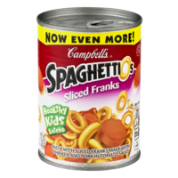 Campbell's SpaghettiO's with Sliced Franks 15.6oz Can
