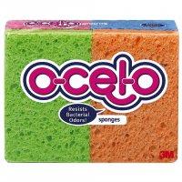 O-Cel-O Sponges Utility Handy Size 4CT PKG