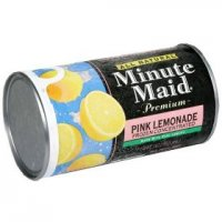 Minute Maid Juice Pink Lemonade Frozen 12oz Can