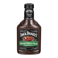 Jack Daniels Hickory Brown Sugar Barbecue Sauce 19oz BTL