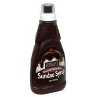 Hershey's Sundae Syrup Double Chocolate 15oz BTL