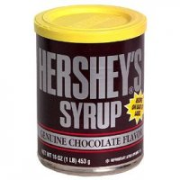 Hershey's Syrup Chocolate Flavored 16oz Can