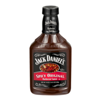 Jack Daniels Spicy Original Recipe Barbecue Sauce 19oz BTL
