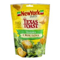 New York Texas Toast Croutons Seasoned 5oz Bag