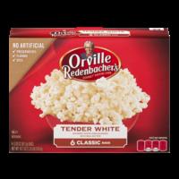 Orville Redenbacher's Microwave Popcorn Gourmet White 6CT 18.37oz PKG