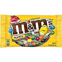 M&M's Candies Milk Chocolate with Peanuts 19.2oz. Bag