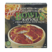 Amy's Bowls Cheese Ravioli with Organic Pasta and Tomatoes 9.5oz PKG