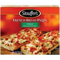 Stouffer's French Bread Pizza Deluxe 2CT 12.375oz PKG