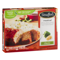 Stouffer's Meatloaf with Mashed Potatoes 9oz PKG product image