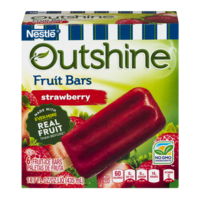 Nestle Frozen Outshine Fruit Bars Strawberry 6CT 2.75oz EA 16oz Box