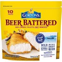 Gorton's Fish Fillets Beer Battered 18.2oz PKG product image