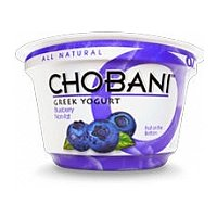 Chobani Non-Fat Greek Yogurt Blueberry 5.3oz Cup
