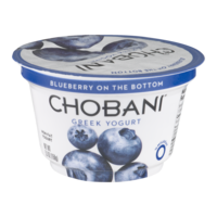Chobani Non-Fat Greek Yogurt Blueberry 5.3oz Cup product image