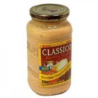 Classico Di Capri Pasta Sauce Sundried Tomato Alfredo 15oz Jar