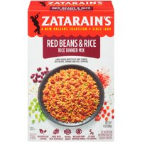 Zatarain's New Orleans Style Rice & Red Beans 12oz Box product image