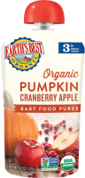 Earth's Best Organic Pumpkin Cranberry Apple 4.2oz Pouch product image