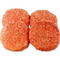 Ground Round Hamburger Patties 4PK 85% Lean 1LB PKG