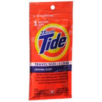 Tide 2XUltra Travel Size 1 Load Original Scent1.6floz
