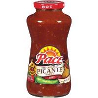Pace Picante Sauce Hot 24oz BTL
