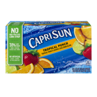Capri Sun Beverage Tropical Punch 10CT of 6oz EA