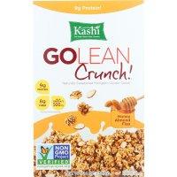 Kashi Go Lean Crunch Honey Almond Flax Multi-Grain Cluster Cereal 14oz Box