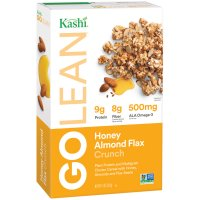 Kashi Go Lean Crunch Honey Almond Flax Multi-Grain Cluster Cereal 14oz Box product image