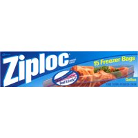 Ziploc Double Zipper Freezer Storage Bags 1 Gallon 14CT