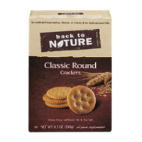 Back To Nature Classic Rounds Crackers 8.5oz Box product image