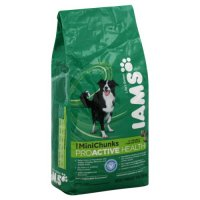 Iams Adult Dry Dog Food ProActive Health Mini Chunks 8LB Bag