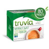 Truvia Sweetener 80 Packet Count Box