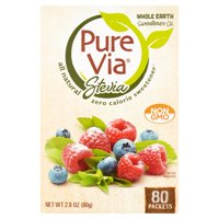 Pure Via Sweetener 80 Packet Box
