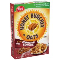 Post Honey Bunches of Oats with Sweet Cinnamon Bunches 14.5oz Box