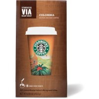 Starbucks VIA Ready Brew Instant Coffee Colombia 8 Packets 0.93oz