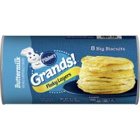 Pillsbury Grands Biscuits Flaky Layers Buttermilk 8CT 16.3oz PKG