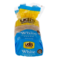 Udi's White Sandwich Bread Loaf 12oz (Frozen)