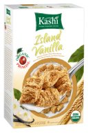 Kashi Whole Wheat Biscuits Island Vanilla Cereal 16.3oz Box