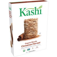 Kashi Whole Wheat Biscuits Cinnamon Harvest Cereal 16.3oz Box