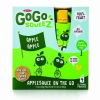Materne GoGo Squeez Appleapple Applesauce On The Go 3.2oz Pouch 4PK