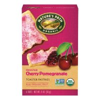Nature's Path Organic Toaster Pastries Frosted Cherry Pomegran 6CT 11oz Box