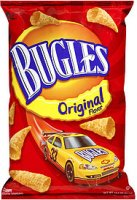 Bugles Corn Snacks Original 3oz Bag