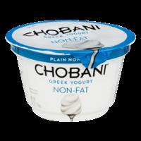 Chobani Non-Fat Greek Yogurt Plain 5.3oz Cup