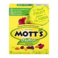 Mott's All Natural Fruit Snacks .8oz Pouches 10CT Box product image