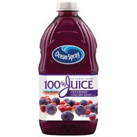 Ocean Spray 100% Juice Cranberry & Concord Grape 64oz BTL