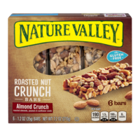 Nature Valley Roasted Nut Brittle Almond Crunch 1.2oz Bars 6Count Box
