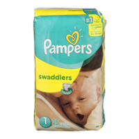 Pampers Swaddlers Size 1 35CT PKG
