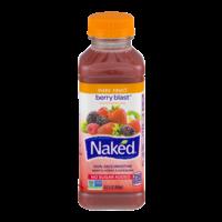 Naked 100% Juice Smoothie Berry Blast 15.2oz BTL product image