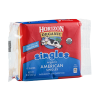 Horizon Organic American Cheese Singles 12 Slices 8oz
