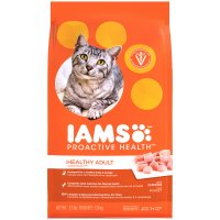 Iams Adult Dry Cat Food Original Formula Chicken 3.2LB Bag