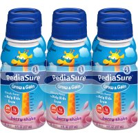 PediaSure Nutrition Beverage Berry 6PK of 8oz BTLS product image