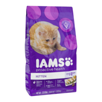Iams Kitten Formula Dry Food 3.5LB Bag